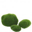 Moss stone range, 7-10cm, green